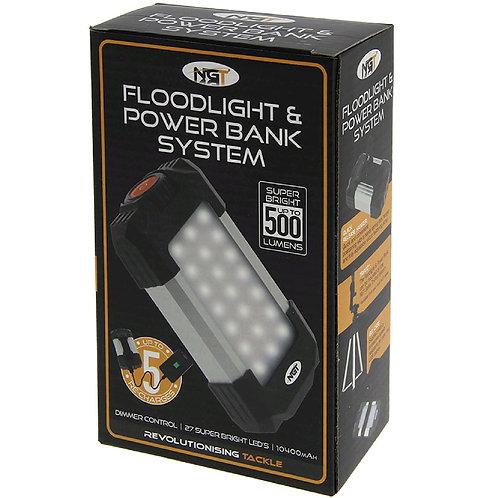 NGT 21 LED light with 10400 mAh powerbank