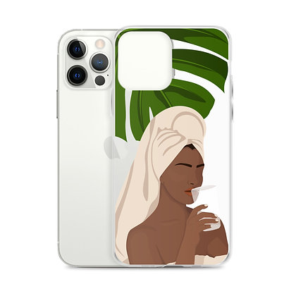 Rest Clear iPhone Case