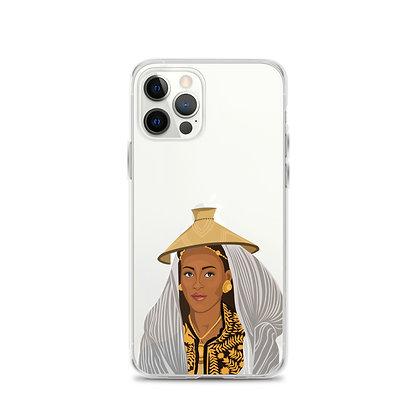 Ethiopian Queen Clear iPhone 12 Case