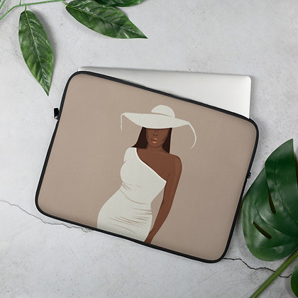 Girl with the hat Laptop Sleeve