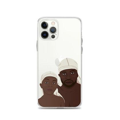 Fatherhood Clear iPhone 12 Case