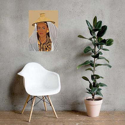 Ethiopian Queen Poster