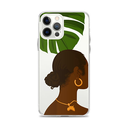 Dalilah Clear iPhone Case