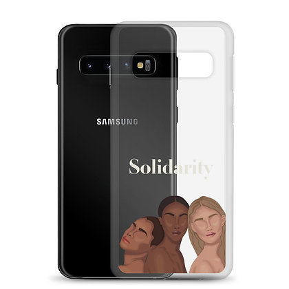 Solidarity Clear Samsung Case