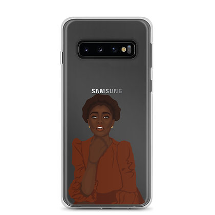 Beauty clear Samsung Case