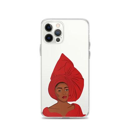 Nigerian Queen iPhone 12 Case