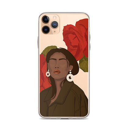 Rosy Clear iPhone Case