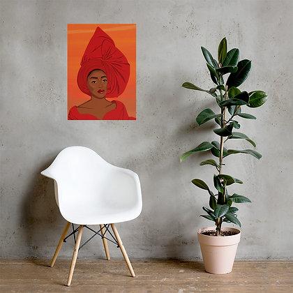 Nigeran queen Poster