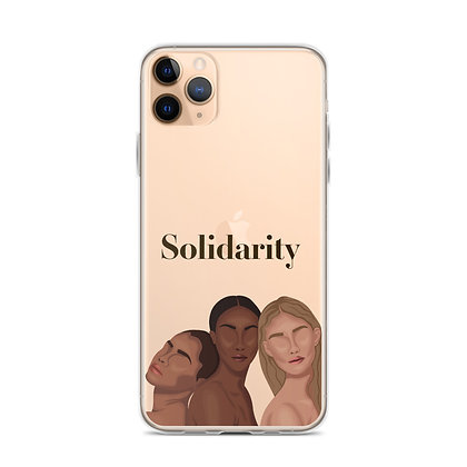 Solidarity Clear iPhone Case