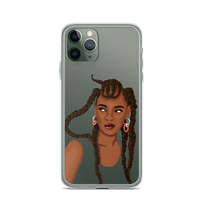 Nneoma Clear iPhone Case