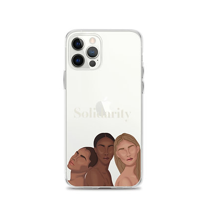 Solidarity Clear iPhone 12 Case