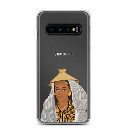 Ethiopian Queen Clear Samsung Case