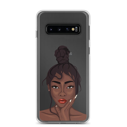 Get serious Clear Samsung Case