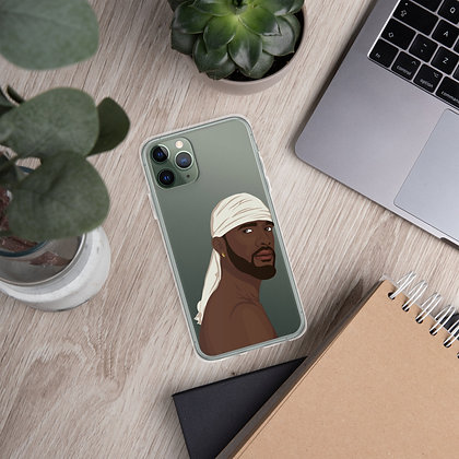 Durag clear iPhone Case