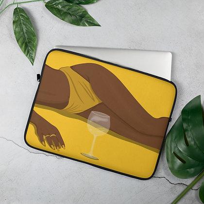 Wine and Chocolate Laptop Sleeve