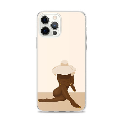 Femme Beige iPhone Case