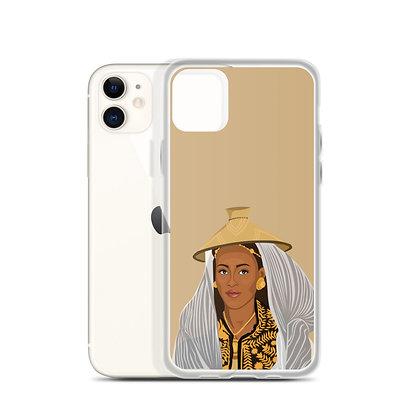 Ethiopian queen iPhone Case