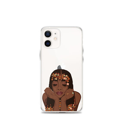 Pearls Clear iPhone 12 Case