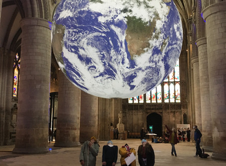 Gaia at Gloucester Cathedral