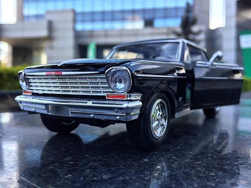 1964 Chevrolet Nova 1/24 ölçek diecast