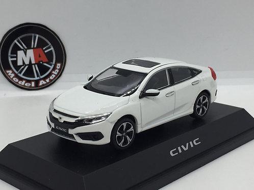 Honda Civic 1/43 metal araba beyaz