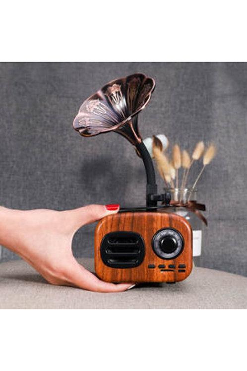 Gramafom Bluetooth hoparlör ses bombası