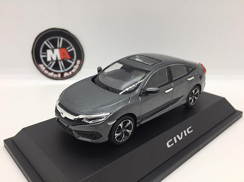 Honda Civic 1/43 metal araba gri