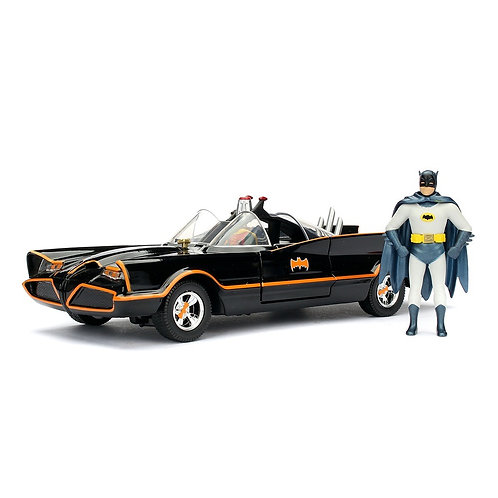 Jada Toys 1:24 Model 1966 Classic TV Serisi Batman ve Batmobile