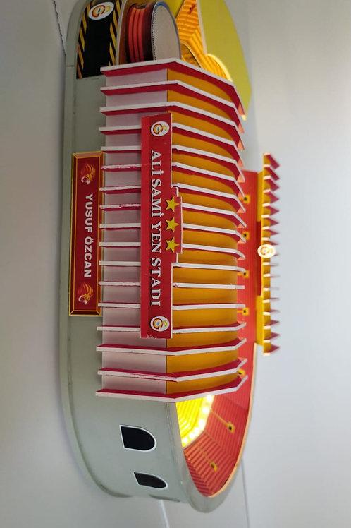 Galatasaray Ali Samiyen Stadyumu maketi Bluetoothlu Marşlı büyük