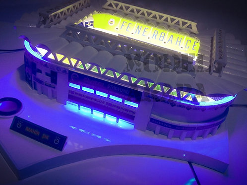 Fenerbahçe Şükrü Saraçoğlu Bluetoothlu Stad Maketi (Küçük)