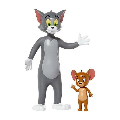 Tom ve Jerry Bükülebilir 2 li Figür
