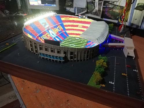 Barcelona Nou Camp Stadı Maketi