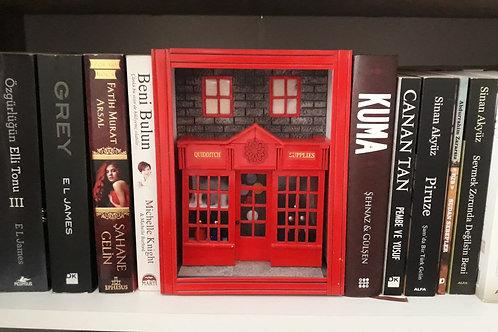 Harry Potter Quidditch Supplies Kitap Arası & Maket
