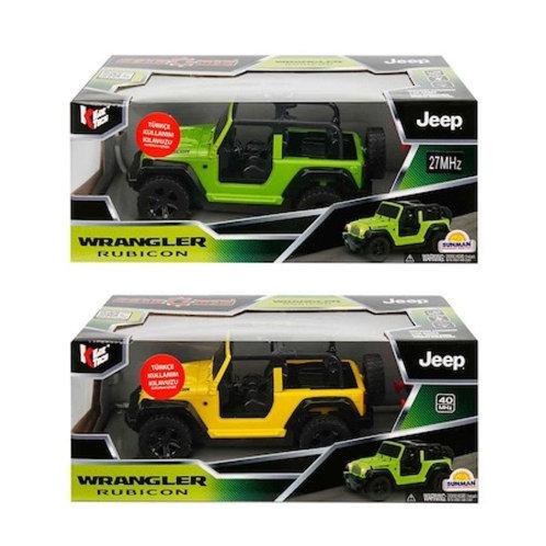 Kidztech R/C Uzaktan Kumandalı Jeep Wrangeler Rubicon