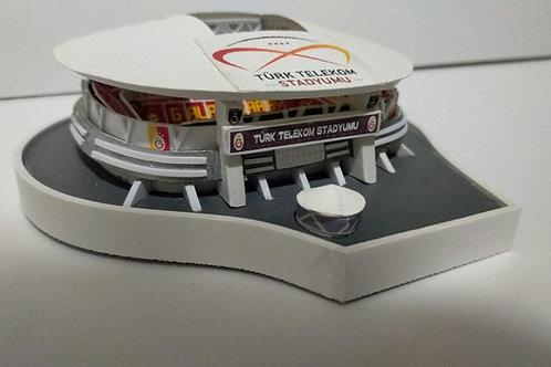Galatasaray TT Arena Stadyum maketi (küçük) İle