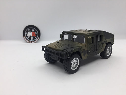 1/32 ölçek Askeri hummer metal