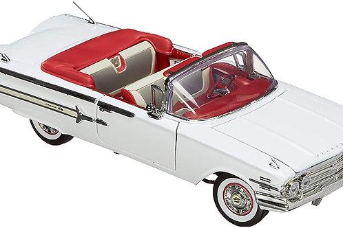 1960 Chevy İmpala 1/18 Model Araba