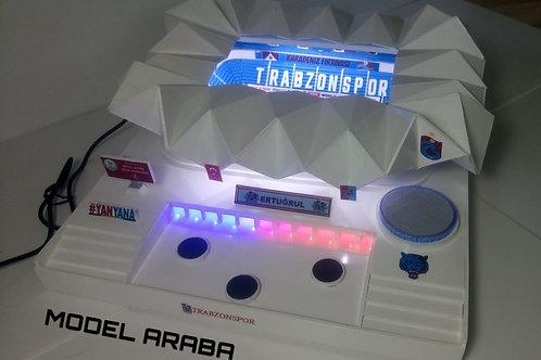 Trabzonspor Şenol Güneş Stadyumu maketi Bluetoothsuz Marşsız büyük
