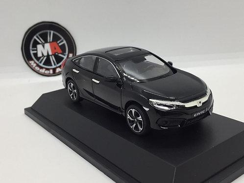 Honda Civic 1/43 metal araba siyah