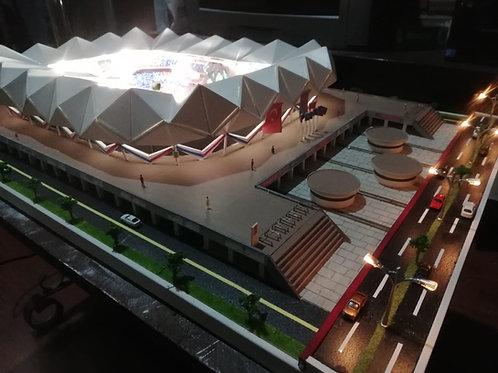 Trabzon Şenol Güneş Stadyumu (Büyük Kareografi ve Meşaleli)