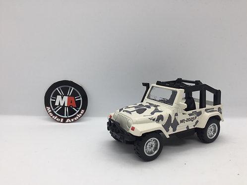 1/32 ölçek Askeri jeep metal