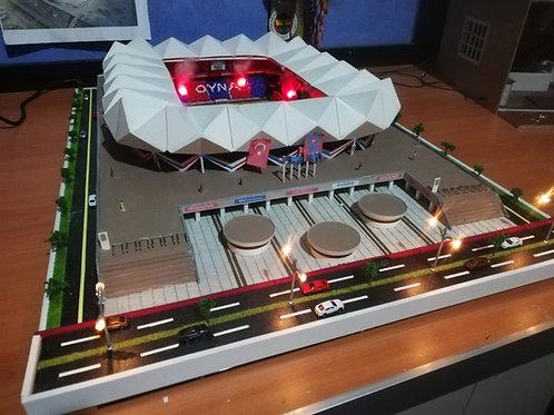 Trabzon Şenol Güneş Stadyumu (Büyük Kareografisiz)