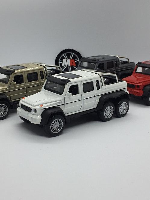 1/32 ölçek Mercedes 6x6 jeep