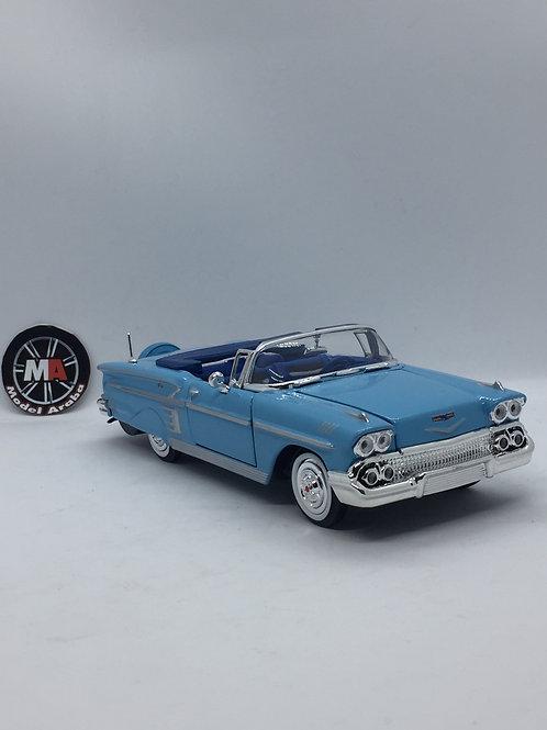 1958 Chevrolet İmpala 1/24 Diecast model