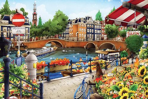 500 Parça Amsterdam