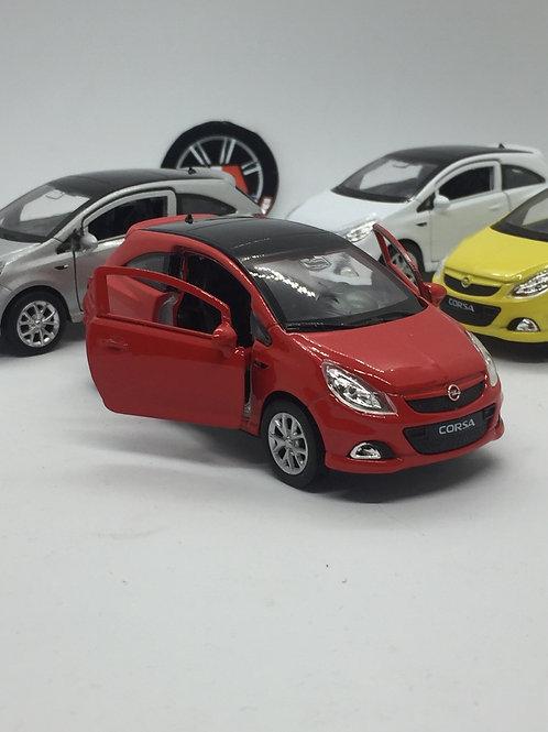 1/36 ölçek Opel Corsa diecast model