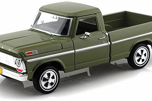 1969 Ford F 100 Pickup 1/24 Diecast model