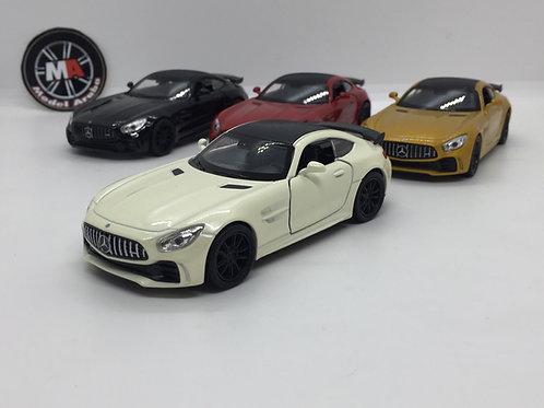 Welly 1:32 Mercedes Amg Gt-r Diecast Model Araba