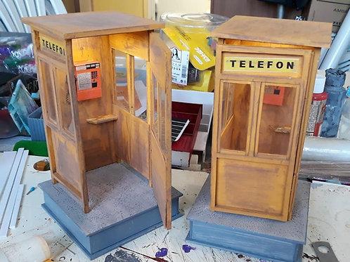 Telefon Kulübesi Maketi