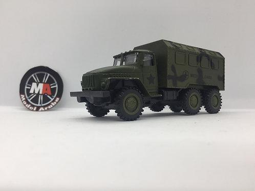1/32 ölçek Askeri Kamyon metal